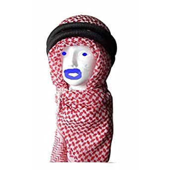 keffiyeh. amazon.com: middle eastern red \u0026 white kafiya keffiyeh kufiya with aqal rope: clothing