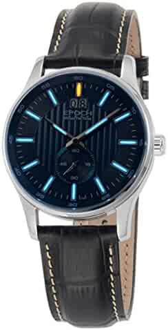 ColorBlue Shopping Resistant Dial Leather100 To200 Shock jc54LSAqR3