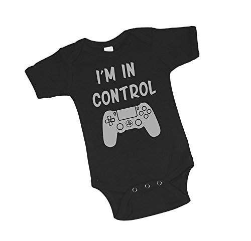 Price comparison product image Project Pinup I'm In Control Video Gamer Baby Bodysuit (3-6 Months)