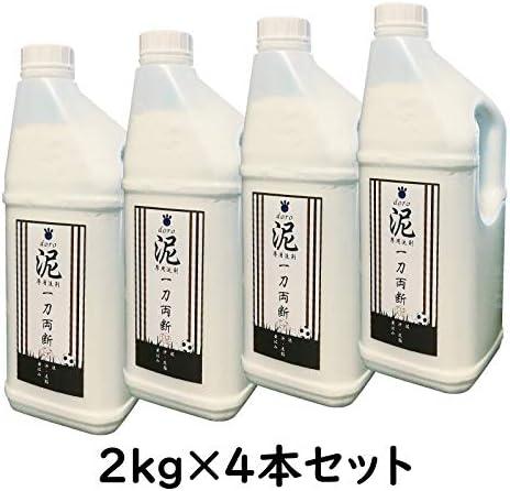 泥-doro-一刀両断|野球|ユニフォーム| 泥汚れ 専用 洗剤 (2kg×4)