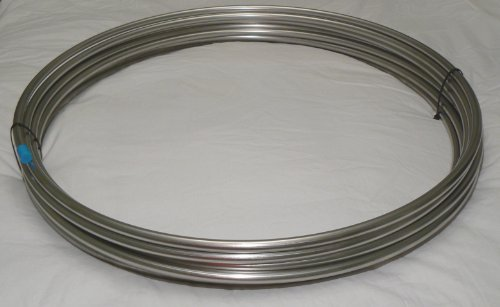 316/316L SS Tubing Coil - 1/2'' OD x 100' Stainless Steel