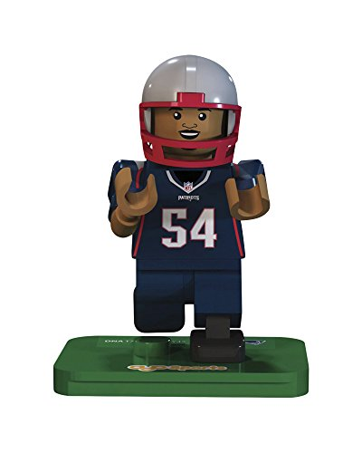 Nfl Gen3 New England Patriots Donta Hightower Limited Edition Minifigures  Blue  Small