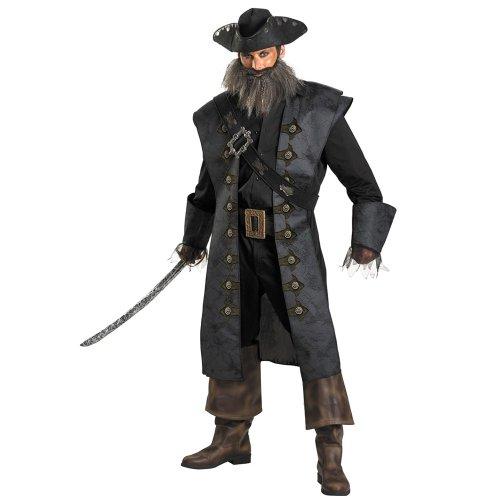 Disguise Unisex Adult Deluxe Blackbeard