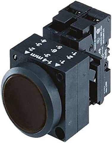 /Taster Taste galvanisiert Schwarz Kontakt offen Kontakt geschlossen Durchmesser 22 Siemens/