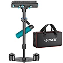 """Neewer® Carbon Fibre Handheld Stabilizer 61cm/24"""" with Quick Release Plate 1/4"""" Screw,Load Capacity 6.6lbs/3kg,for DSLR Camera Camcorder Video Photography Studio Movie Film Making"""