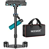 Neewer Carbon Fibre Handheld Stabilizer 61cm/24 with Quick Release Plate 1/4 Screw,Load Capacity 6.6lbs/3kg,for DSLR Camera Camcorder Video Photography Studio Movie Film Making