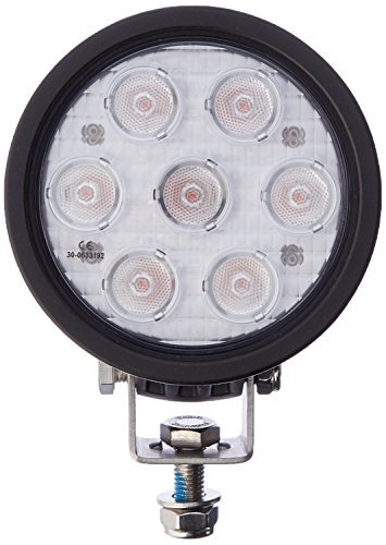 Vision X Lighting 9121451 Amber/Black 4'' Round 3W Wide LED Flood Light by Vision X Lighting