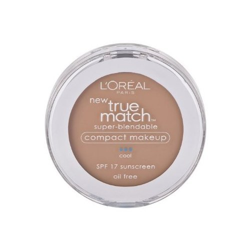 - L'oreal Paris True Match Super-blendable Compact Makeup, SPF 17, Shell Beige, 0.30 Ounce, 2 Ea