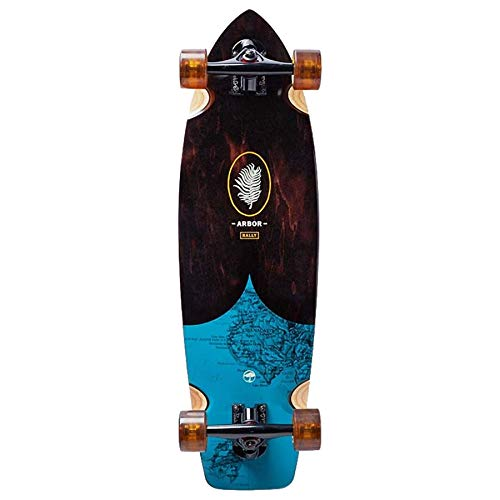 Arbor Rally Complete Skateboard (Groundswell Series, 2018)