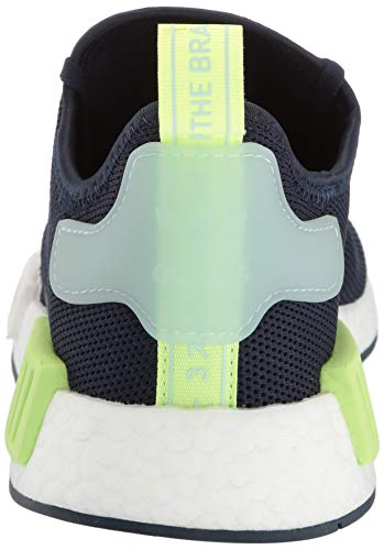 adidas Originals Unisex NMD_R1 Running Shoe, Collegiate Navy/ice Mint, 3.5 M US Big Kid by adidas Originals (Image #2)