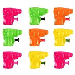 6 x Mini Acqua Pistole - Articolo Sacchetto Regalo Giocattoli/Accessori e gadget 10 spesavip
