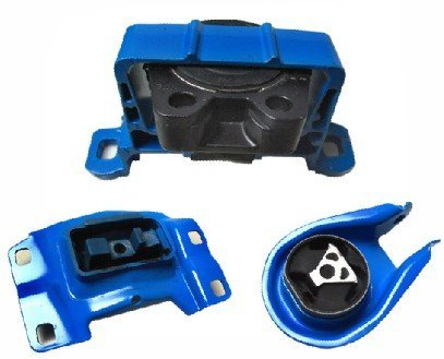 (M095 BCM439060D BP4S39040A 04-09 Mazda Engine Motor Mount 3PCS With Hydraulic 3 04 05 06 07 08 09)