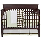 Metro Lime/Choc 4 pc Crib Set