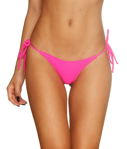 THE MESH KING COQUETA Sexy Teeny Mini Brazilian Bikini Thong Swimsuit Bottom Swimwear Hot -