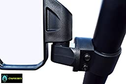 Chupacabra Offroad Side Mirror for UTV - Right & Left Pair for 1.6\