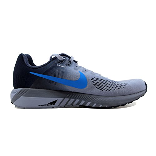 Nike Running Air Scarpe Structure Grey 21 Photo Blue Blue Uomo Glacier Zoom thunder pnpXdqxEr