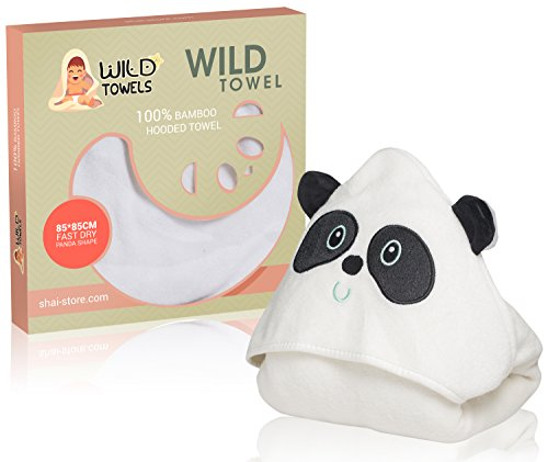 Hooded Bear 100 Bamboo Toddlers Babies product image
