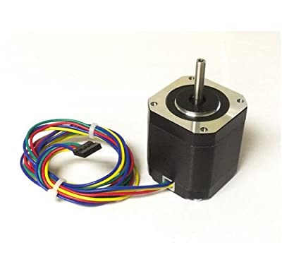 10 pcs NEMA17 Stepper Motor for 3D Printer KL17H248-15-4A, 76 oz-in