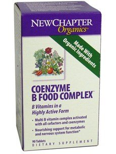 New Chapter. Coenzyme B Food Complex. 90 Tabs (3 Bottles)