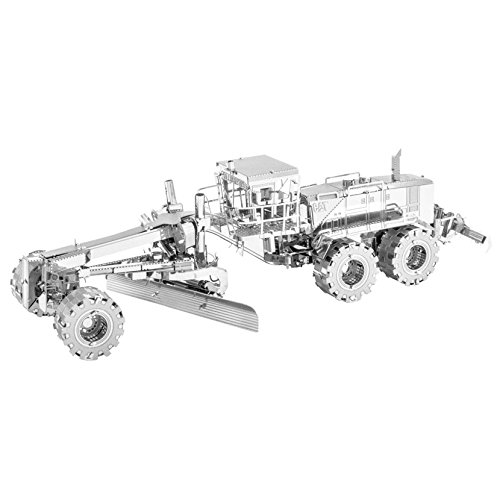 Fascinations Metal Earth CAT Motor Grader 3D Metal Model (Cat Motor)