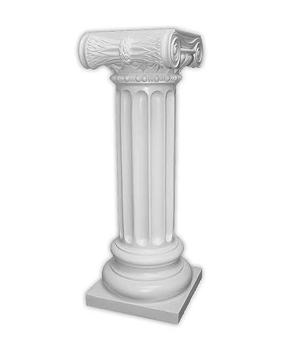 Pedestal – Roman Ionic Style – Off White