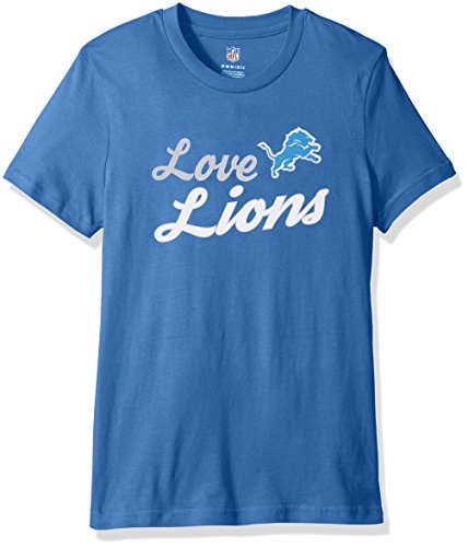 """NFL Youth Girls 7-16″Live Love Group"""" Short Sleeve Tee – DiZiSports Store"""