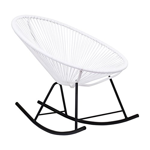 Tremendous Ixtapa Outdoor Full Sized Patio Rocking Chair In White Buy Pdpeps Interior Chair Design Pdpepsorg