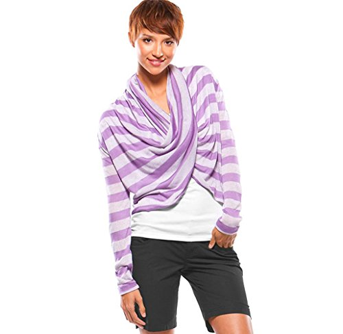 Oakley infinity Throw Womens Cardigan morado