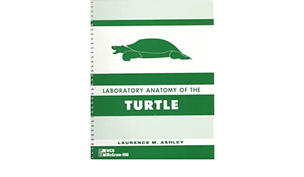 Lab Anatomy Of The Turtle 9780697046017 Medicine Health Science