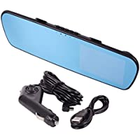 XINDELL 4.3 LCD DVR, Video Dash Cam Recorder, Rearview Mirror, Front Car DVR, Full HD 1080p
