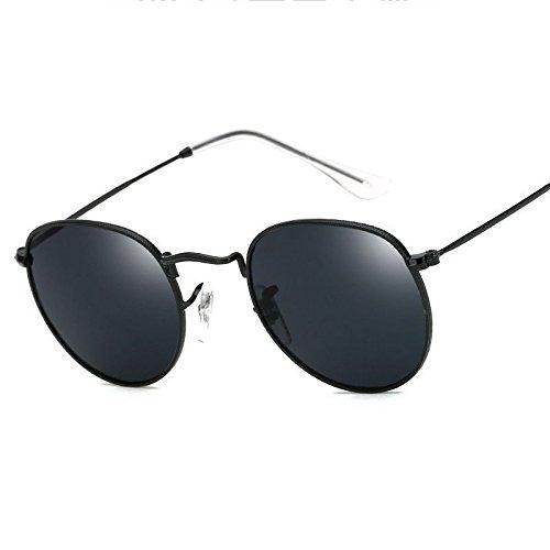 JUJU MALL-Retro Women Men Metal Frame Sunglasses Glasses Vintage Round Outdoor - Eyeglasses 2016 Styles Latest