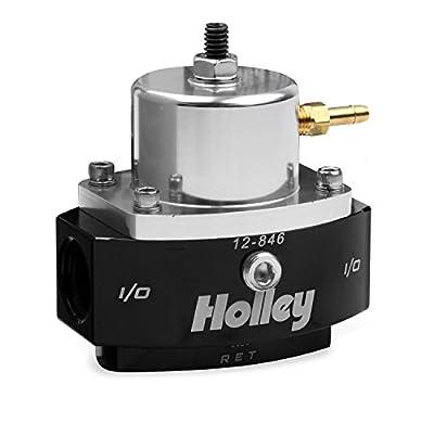 Holley 12-846 8AN Inlet / Outlet 6AN Return 40-70 PSI Billet Fuel Pressure Regulator