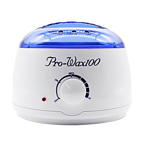 Pro Wax Warmer Portable Electric Wax Melting Pot Wax Heater Melt Hard Wax Brands Hot Wax Heater/Warmer Salon Spa Beauty Equipment for Hair Removal