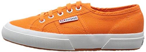 Superga - 2750- COTU CLASSIC, Sneaker Unisex - Adulto, Arancione (G02 Hot Orange), 35 Arancione (G02 Hot Orange)
