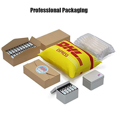 100 Pack 4GB USB Flash Drive Custom USB Thumb Drive Promotional Memory Stick Personalized Logo Jump Drive Twister Swivel Design in Bulk - PMS by MEINAMI (Image #7)