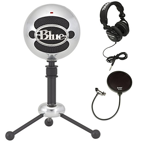 Blue Microphones Snowball Plug-and-Play USB Microphone in Br