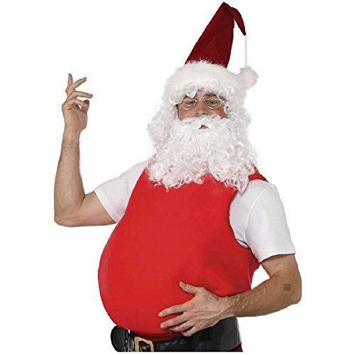 Santa Stuffer Adult Mens Claus Belly Padding for Fat Suit Christmas Costume Acsy