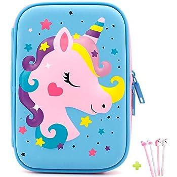dfb0675ff748 Amazon.com: Dispalang School Pencil Case Galaxy Pencil Bag for ...