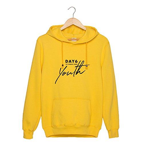 JUNG KOOK Kpop DAY6 1ST World Tour Youth Hoodie Pullover Jae Sung Jin Won Pil Sweater
