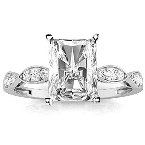 0.79 Ct Radiant Diamond - 3