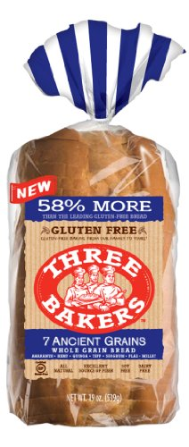 (Three Bakers Gluten Free 7 Ancient Grain Bread (Pack of 3) )