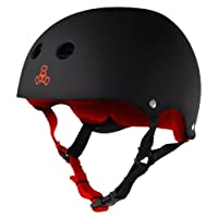 Triple 8 Brainsaver goma Casco con Sweatsaver Liner
