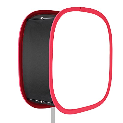 new Neewer Collapsible Softbox Diffuser with Red Rim for 660