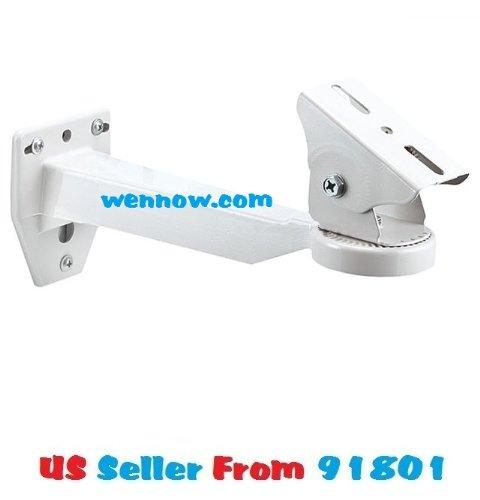 Monoprice 106697 10-Inch Wall Mount Bracket for Camera Housing ML-205N (white)