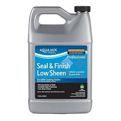 Aqua Mix Seal & Finish Low Sheen Durable Coating Sealer 1 Gallon