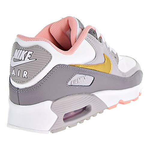 EU Air GS Max Nike 90 Gold Formateurs LTR Metallic 36 Youth Cuir S7B7q5WnFP