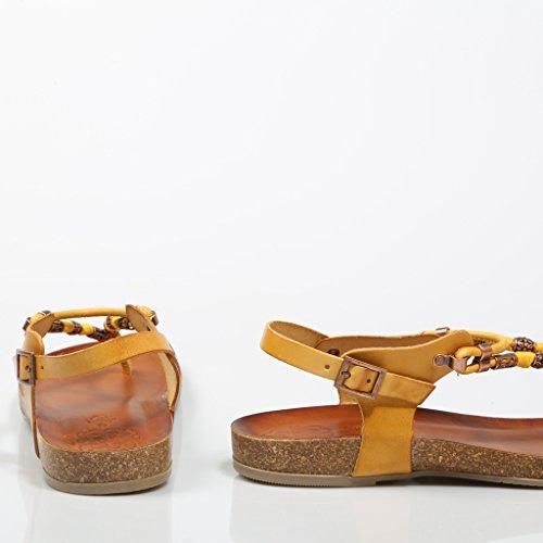 Giallo Porronet 41 Per Esclava Bolitas Sandalo Donna Mostaza fnCI7C6q