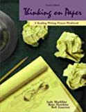 img - for Thinking on Paper: A Reading-Writing Process Workbook by Judy Markline (1999-01-05) book / textbook / text book