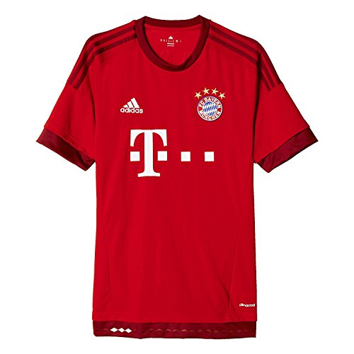 Authentic Jersey Adidas Home Mens - adidas Mens 2015 Bayern Munich Fc Home Jersey (S)