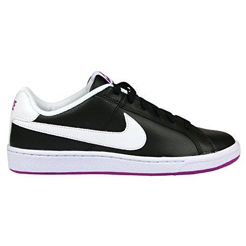 Nike Damen Wmns Court Royale Turnschuhe Black (Schwarz / Weiß-Hyper Violet)